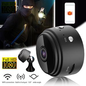 Versión A9 Wifi Mini IP nocturna de la cámara al aire libre Micro videocámara de la cámara de voz CCTV del video de seguridad HD Mini videocámaras inalámbricas