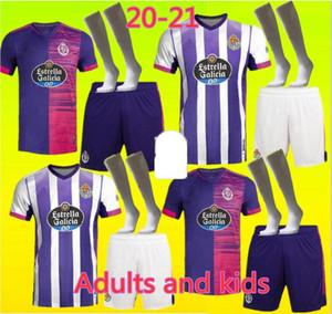 Nouveau 20 21 Jersey de football VALLADOLID 2020 2021 Óscar Plano Feed Ser R. Alcaraz SS Sergi Guardiola Camisetas De Fútbol Men Football Enfants Sh