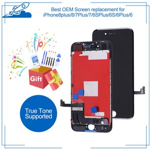 Best OEM For iPhone 8 Plus 7 6S 6 LCD Touch Screen IPS Display Digitizer Assembly iPhone8 True Tone Supported Replacement