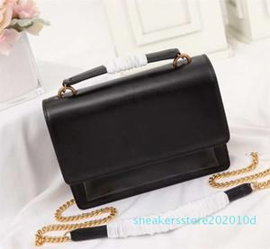 New style women shoulder bag luxurys designers bags real leather bag letter handbag women bags gold Chian crossbody bag s10