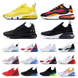 nike air max 270  Medio acrónimo zapatillas para hombre entrenadores de mujeres Confortables zapatillas deportivas transpirables tamaño 5.5-11