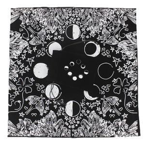 bwkf 50x50cm Altar Tarot Tarot Mantel grueso cartas de la mesa de tela con el paño bolsa de almacenamiento 50x50cm Altar bbyMKP