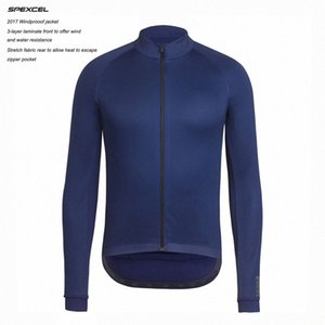 2017 New SPEXCEL Top quality 0 degrees Winter Windproof Jacket Winter thermal fleece soft shell Cycling jacket navy black GCXw#