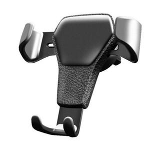 Evrensel Araba Telefonu Tutucu Hava Firar Dağı Telefon için Standı Arabada Hiçbir Manyetik Cep Telefonu Tutucu Perakende Paketi Sıcak Satış
