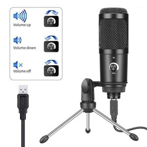 Usb Condenser Microphone Vibrato Anchor Microphone Game Voice Live Broadcast Platform Equipment for Laptop Computers1
