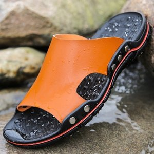2021 New Gaoke New Fresh Flipping Flip Flops Men High Quality Soft Beach Fashionable Man Shoes 88ro