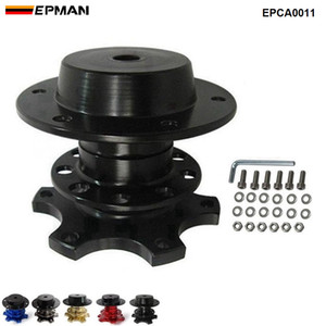 EPMAN NEW Steering Wheel Quick Release Snap Off Hub Adapter fits Car Sport Steering Wheel EPCA0011