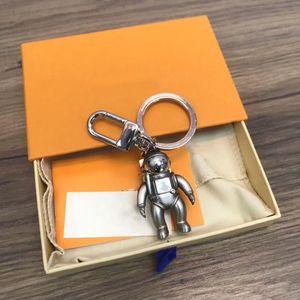 Original Keychain Anhänger Auto Schlüsselanhänger Astronautdekoration Gepäckstücke Tasche Teile Zubehör Geschenke mit Box