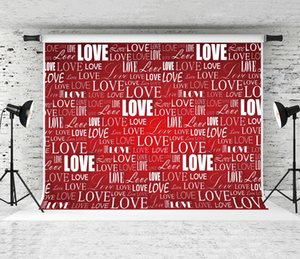 Valentine's Day Backdrop Repeat and Repeat Love Letter Photography Background Backdrops for Lovers Couples Wedding Children Party Shoot Prop