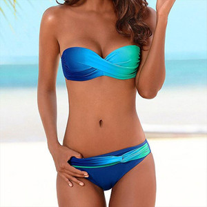 New 2020 Bikinis Women Swimsuit Female Swimwear Sexy Summer Bikini Set Beach Swim Wear Summer Bathing Suits Biquini