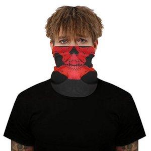 Printing Style Scarf Outdoor Scarf Mask Variety Turban Magic Scarves Face Mesh Headband Skull Neck Bandanas Men Women Braga sqcsrH