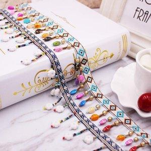 10yards lote cinta tassel encaje accesorios de bricolaje corbata borla recorte franjas para el hogar amueblado coser ropa cortinas decoración H jlliij