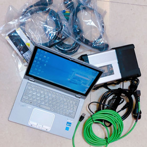 V09 2020 MB Star C5 SD C5 DAS EPC HHTwin 480GB Mini SSD for Cars Trucks installed on laptop cf-ax2 4G I5