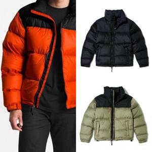 Erkek Ceket Parka Erkekler Kadınlar Klasik Casual Aşağı Ceket Palto Erkek Açık Asya boyut M-2XL eskitmek Tüy Kış Ceket Unisex Coat Isınma