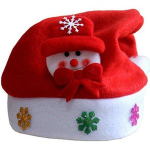 2020 Christmas Decoration Costume Santa Claus Snowman Reindeer Christmas Hats 2021 New Year Gifts Navidad Decor Christmas Gift sqcWFF