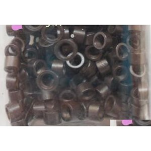 2000pcs lot, Sil Micro Link Beads For Feather Or Ha qylUwP sweet07