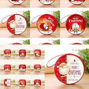 Hbxg2 Decoration Kindergarten Children Children Christmas Christmas Eve Cartoon Pendant Gift Piccolo ciondolo Santa Claus Regalo creativo