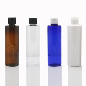 250 мл пластиковый косметический крем для банку бутылка контейнер для бутылки Flip Cap Face Cost Foundation Essence Lotion JARS Travel Storage бутылки 0169Pack