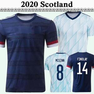 2020 스코틀랜드 국가 대표팀 홈 멀리 축구 유니폼 McGregor Griffiths Robertson Shankland Findlay McGinn 축구 셔츠