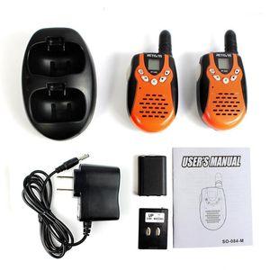 2 шт. Kids Walkie Talkie Radio Retevis RT602 Toy Walkie-Talkie FRS UHF Двусторонняя радиосвязь Подарочная радиостанция CB1