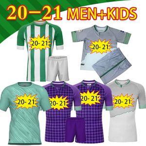 2020 21 Real Betis Soccer Jersey Jersey Jersaquin B.iglesias Hombres Niños Men Kids Training Juanmi Fekir Bartra Canales CamiSeta de Fútbol