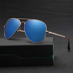 2020 Retro Azul High-End New Dark Metal Color Verde Men's Green UV400 Moda Lentes Unisex Lentes Sombreadas Sombrillas Sunglasses Oculos Ixafe