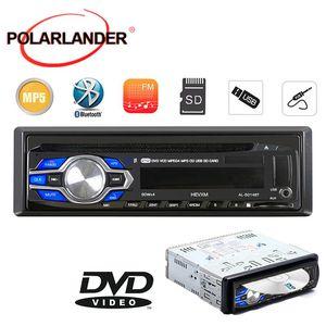 New bluetooth 1 DIN 12V Car Radio player MP3 Audio Stereo FM Built in Bluetooth Phone DVD VCD CD USB SD MMC port Car Electronics