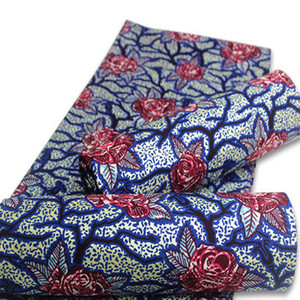 Новые нигерийские зеленые африканские восковые ткани Хлопок рэппер Батик Анкара Лучшее качество Золотой материал для шитья