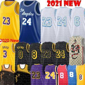 2021 Alex 4 Caruso Jersey Talen 5 Horton-Tucker Jersey Anthony 3 Davis Kyle 0 Kuzma Los Basketball Formalar Angeles