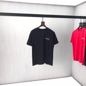 Новая футболка AOP Письмо вязаный свитер осенью / зима 2021 пользовательские жаккардовые вязальные машины увеличить деталь с круглым вырезом