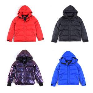 La fabbrica direttamente vende thickend antivento inverno caldo verso il basso gli uomini sciolti giacca e le donne di colore mutiple parka giacca puple camaleonte inverno