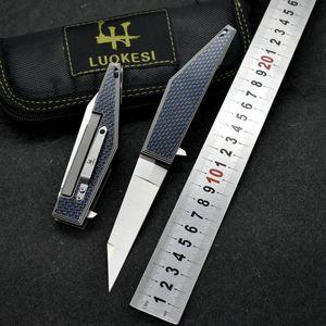 High quality m390 folding pocket knife carbon fiber handle ZT 0456 0630 TR Godfather 920 BM42 self defense hunting survival tactical knife