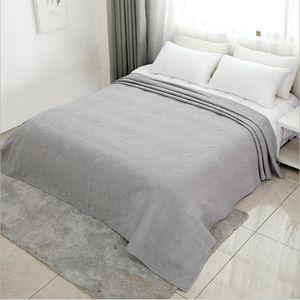 Colcha lavable Casa de algodón acondicionamiento de aire acolchado Copa de cama gruesa King Rey Tamaño de la reina Cubierta de gasa de gasa de recubrimiento W1218