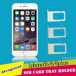 Carte SIM Plateau support de remplacement Pièces de rechange pour l'iPhone 4G 4S 5 5G 5C 6G 6 Plus 5S 6S 4.7 5.5