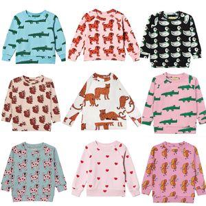 Hugo Loves Tiki 어린이 스웨트 소년 스웨트 셔츠 후드 어린이를위한 소년 옷을 입은 소년 의류 소녀 Sweathshirt 의류 Cicishop T200211