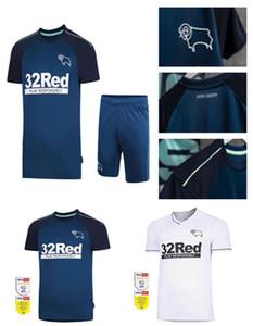 20 21 Derby County Football Club Football دعوى 2021 الصفحة الرئيسية White Wisdom Waghorn Martin Football قميص مطرقة روني مخصص بالغ + الأطفال