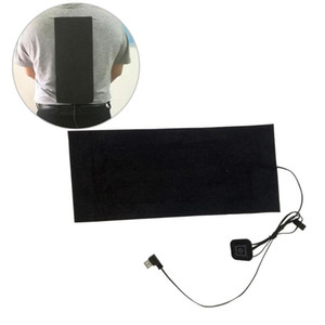 Carbon Fiber Heating Pad Hand Warmer USB Heating Film Electric Winter Infrared Fever Heat Mat Adjustable Temperature Controller