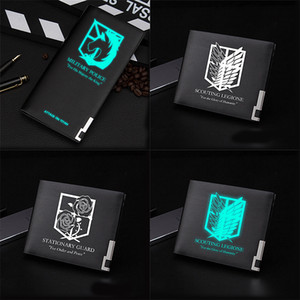 Long Corps On Legion survey Ere Leather Titan Attack Printing Men Anime Fashion Pu Wallet 2020 Purse Gift New Scout Uwpfp