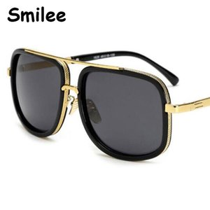 New 2020 Square Metal Luxury Sunglasses for Women Vintage Big Frame gradient Sun Glases for Gafas Oculos Woman UV400 De Sol