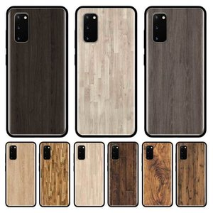 Wood Textures Case For Samsung Galaxy S10 Ultra S9 S20 Plus S7 Note 20 9 10 Lite Tpu Mobile Phone Shell Coque