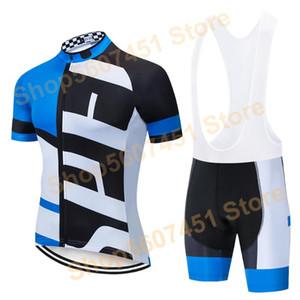 SPE 2021 Pro Cycling Giyim Bisiklet Bisiklet forması Yaz Mans Jersey Seti Yol Bisikleti Formalar MTB Bisiklet Wear ayarlar