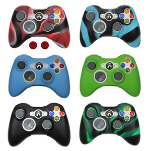 ZOMTOP Silicone Case Cover For Xbox 360 Gamepad Soft Rubber Silicone Cover For Controller Accessories Gel Protective Case skin