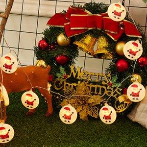 Weihnachtsdekorationen 1,5m LED-Zeichenleiste Baum Elch Schneemann Rentier Santa Claus Schnur Lichter Weihnachtsbaum Ornament CYZ2830