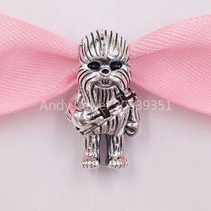 Authentic 925 Sterling Silver Beads Chewbacca Charm Charms Fits European Pandora Style Jewelry Bracelets & Necklace 799250C01