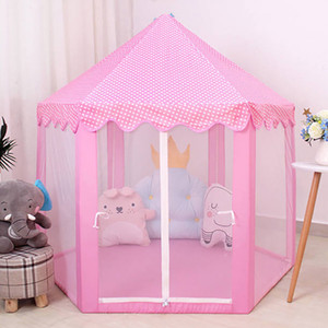 Summer Baby toy Tent Portable Folding Prince Princess Children Castle Play House Kid Gift Outdoor Beach Girls gifts