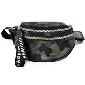 Vento Marea Crossbody Сумки для женщин Широкий ремень Chest сумка через плечо Стильная женщина черный Коммуникатор кошелек сумки 200928