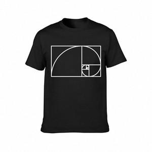 Fibonacci-Spirale T-Shirt Cotton Kawaii Interessanter Ansatz-Frühlings-Herbst-Mode-Charakter cooles Hemd Online Funky T Shirts kaufen T-Shirt ïerden #