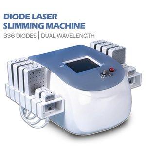 Máquina de emagrecimento de Laser de morango Laser dual comprimento de onda de dual 650nm980nm Double Chin Redução de gordura lipolaser corpo de beleza contorno
