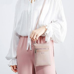 New High Quality Women's Fashion Leather Simple Solid Mobile Phone Small Shoulder Bag Crossbody Bags For Girls Messenger Bolsa