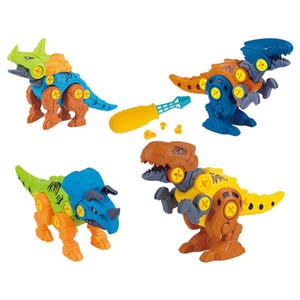 Dinosaur Building Blocks Figures Home Decor Ornaments for 4 5 6 Years Old Boys Girls